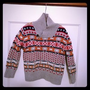 Genuine Kids Fair Isle Cotton Sweater